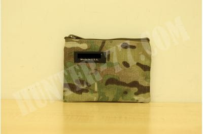 Multicam  7 x 5 - Inch Cordura Ballistic Nylon Zipper Bag Made in USA