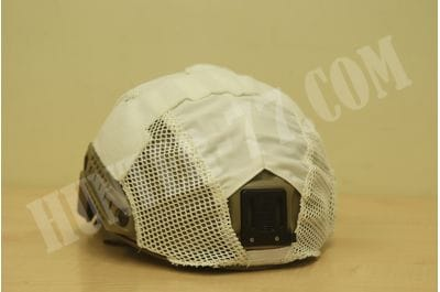 Helmet Cover - Hybrid - Ops Core white First Spear FAST Ballistic
