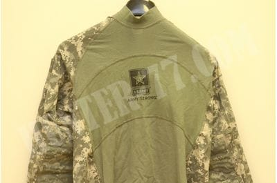 Digital ACU Massif  Army Combat Shirt Military ACS Team Soldier Flame Resistant US ARMY Logo