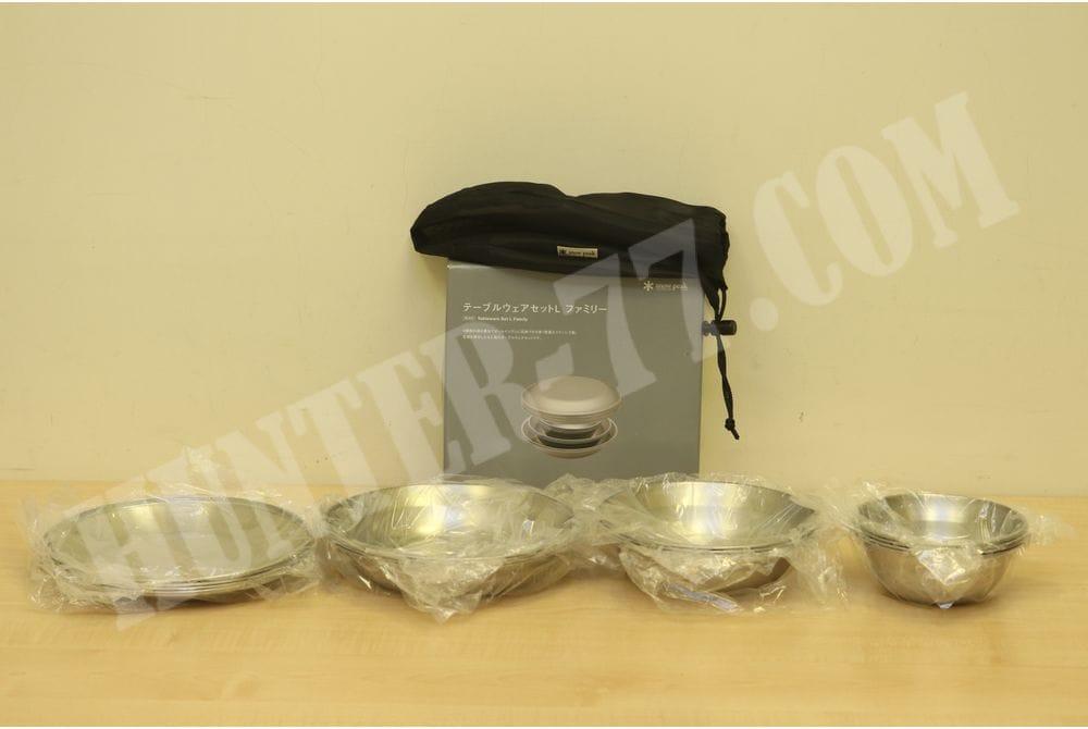 Большой комплект 16 тарелок Snow Peak Tableware Set L Family,16 pcs, TW-021F