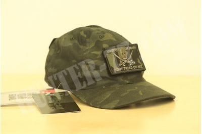 Black Tactical Patch & Hat TRU-SPEC Bundle (Calico Jack/DTOM Patches)