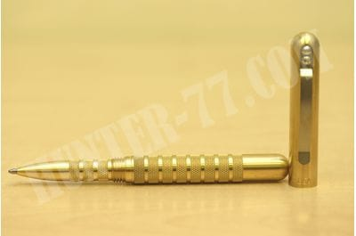 Brass Embassy Pen REV 3  UPGRADE  ENHANCED DIAMOND BAND KNURL FOR BETTER GRIP  2020 MODEL