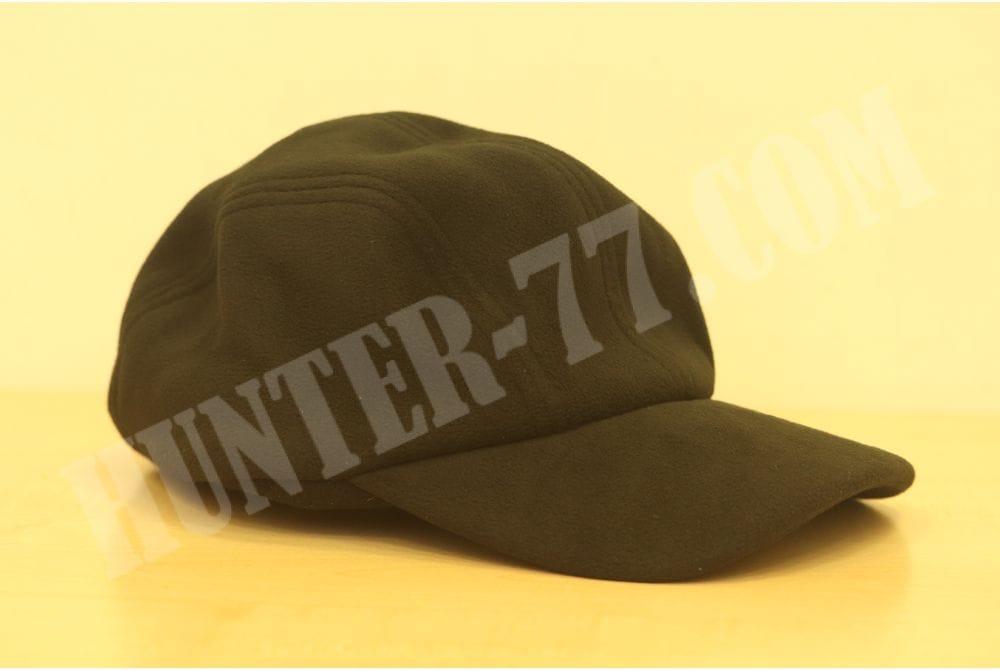 Флисовая шапка с козырьком Condor Yukon черная размер 56-57