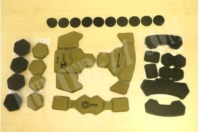Система подкладки боевого шлема Team Wendy