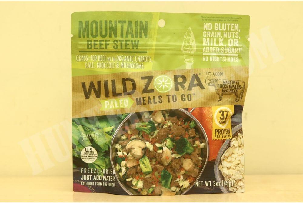 Рагу из горной говядины Wild Zora Foods