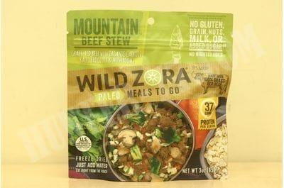 Meals - Mountain Beef Stew Wild Zora Foods