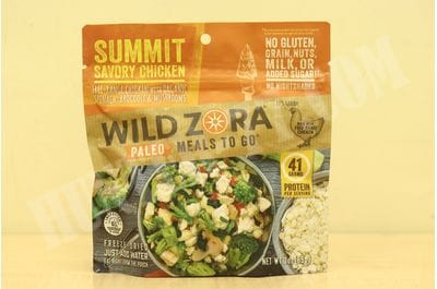 Meals - Summit Savory Chicken Wild Zora Foods