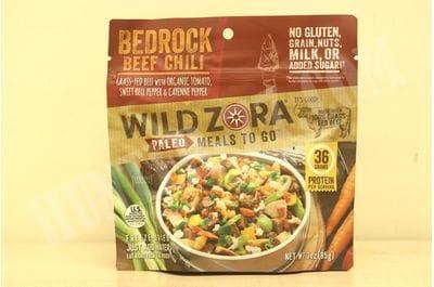 Meals - Bedrock Beef Chili Wild Zora Foods
