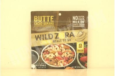 Wild Zora - Butte Cacao Banana - Paleo Meals to Go (сингл)