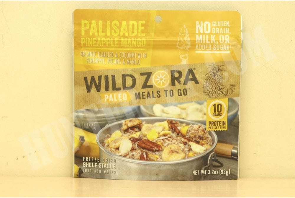 Wild Zora - Palisade Pineapple Mango - Paleo Meals to Go (single)