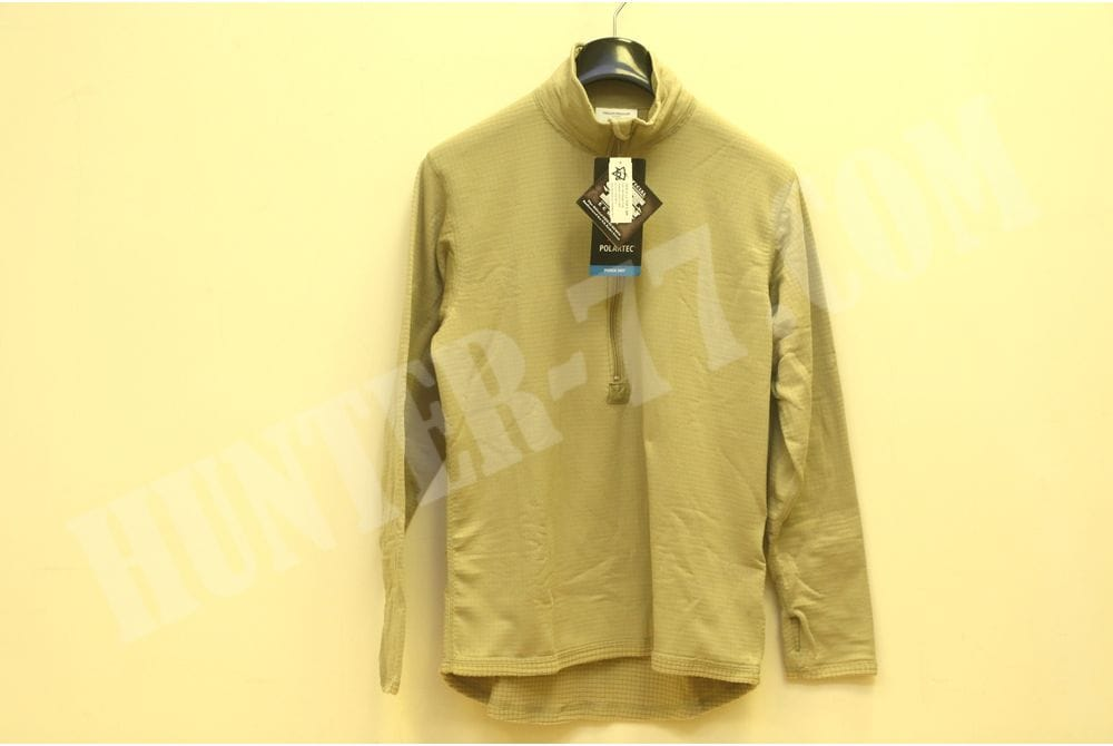 L2 Теплая рубашка Tan Слой 2 GEN III ECWCS Desert Sand