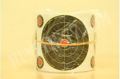 Мишень отображающая попадание 4 дм 200 шт рулон Splatterburst Targets