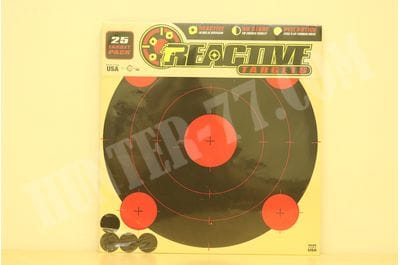 """Reactive Targets Peel-and-Stick - Adhesive Target 12"""" Red Center 13"""" H x 12.5"""" W"""