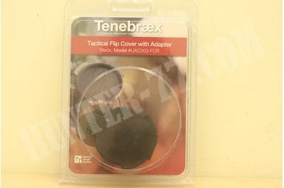 Tenebraex Eyepiece Flip Cover for Leupold, Zeiss, and Hensoldt Ocular Lens UAC003-FCR  for Zeiss, Hensoldt, lens ELCAN 1x4 (front), March