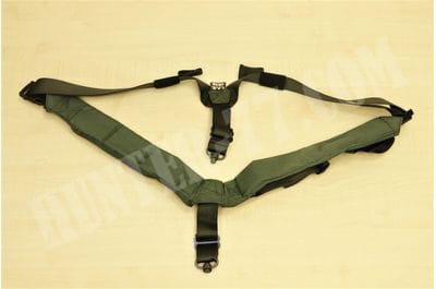 Ремень биатлонный OD Green QD Push Button / Flush Cups TAB Gear
