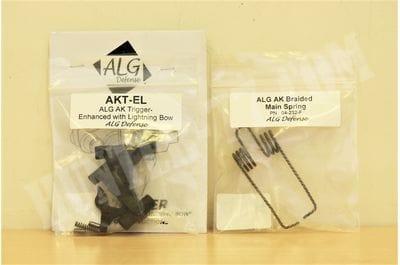 Спуск одноступенчатый ALG AKT-EL + витая пружина ALG DEFENSE