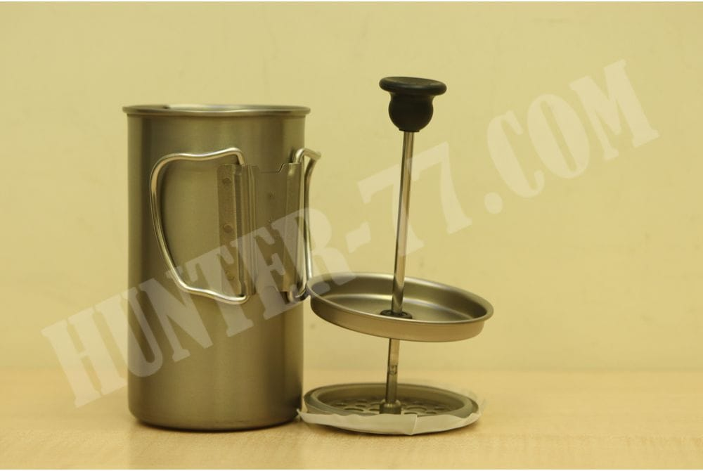 Кофейник (чайник) титановый  Snow Peak Titanium Coffee French Press CS-111