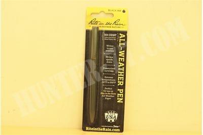 Всепогодная тактическая ручка N OD97 Olive Drab Green Rite in the Rain черные чернила