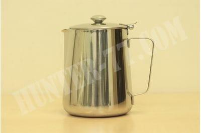 Кофейник с крышкой 1 литр стальной