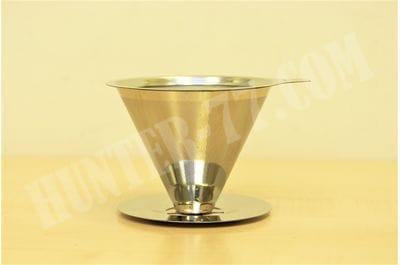 Портативная кофеварка с безбумажной металлической мелкой сеткой