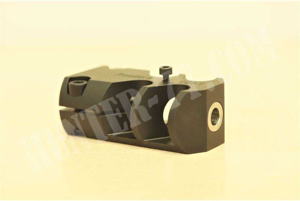 Дульный тормоз ДТК Roedale precision 18 х 1,0 фосфатированный темно-серый цвет Milspec