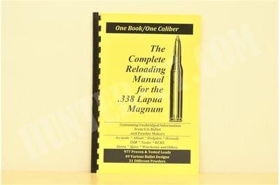 Руководство по релоадингу  .338 Lapua Mag LOADBOOKS USA
