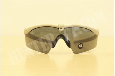 Oakley Si Ballistic M Frame 3.0 Rectangular Sunglasses Dark Bone/Grey