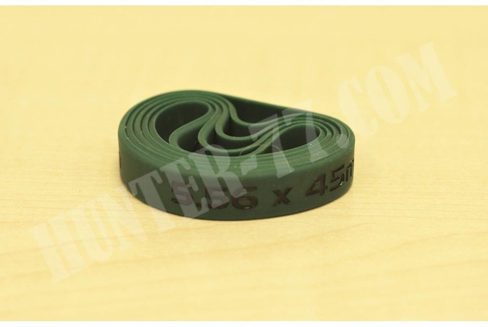 Силиконовый маркер магазинов .223 Зеленый 5 шт комплект