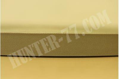 """Лента окантовочная 20мм Tan 499 .75"""" MIL-PRF-5038 T-III MMI Textiles"""