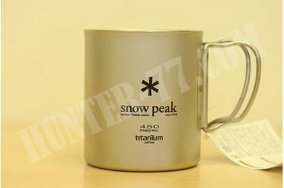 450 ml Snow Peak Titanium Double Wall Cup MG-053