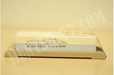 Камень водный точильный  3000/1000 SKG-38 SUEHIRO желтый/голубой