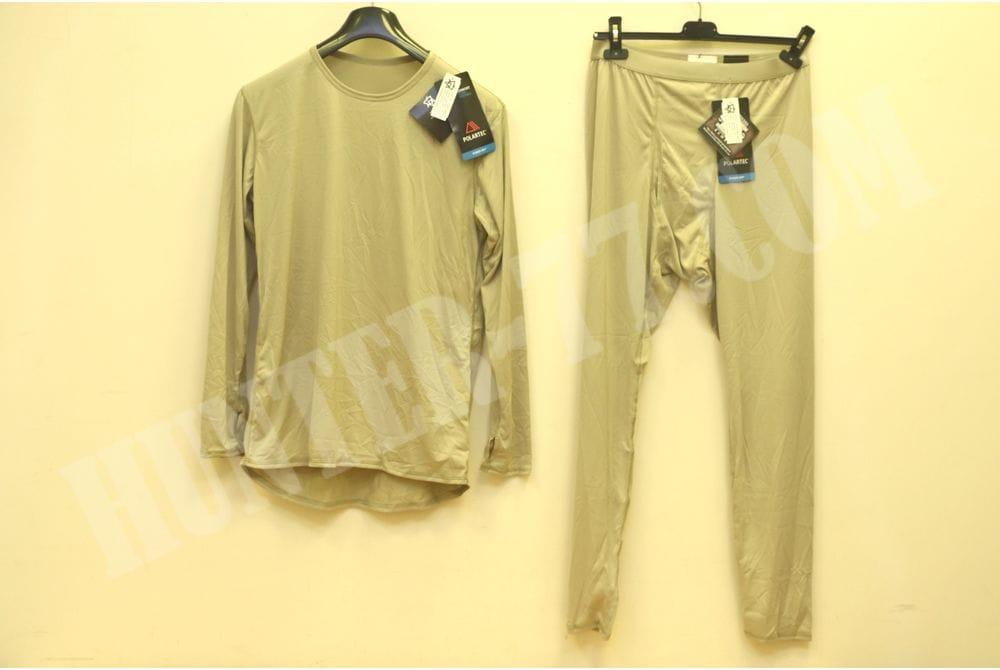 L1  Костюм рубашка-кальсоны Тан Легкое влагоотводящее термобелье Слой 1 ECWCS GEN III