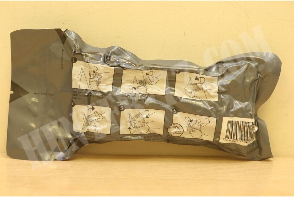Бинт военный 6 дм Israeli Bandage Emergency Trauma Wound Dressing HemCon