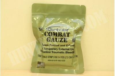 "Bandage QuikClot Combat Gauze Combat Gause 3"""