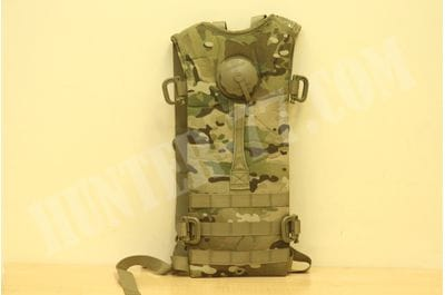 MOLLE II Multicam Hydration System Carrier + 100 oz 3 L Bladder Bag Back Pack USA Military Army Tactical BAE SYSTEMS