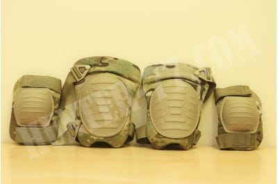 US Army Multicam OCP Knee & Elbow Pad Set Combat Military Pads McGuire-Nicholas NSN 8415-01-C14-1796