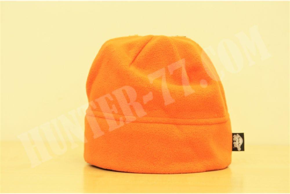 Флисовая шапка 150 оранжевая