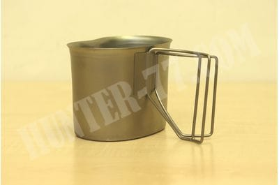 USMC US Army US Military Stainless Steel Canteen Cup USGI