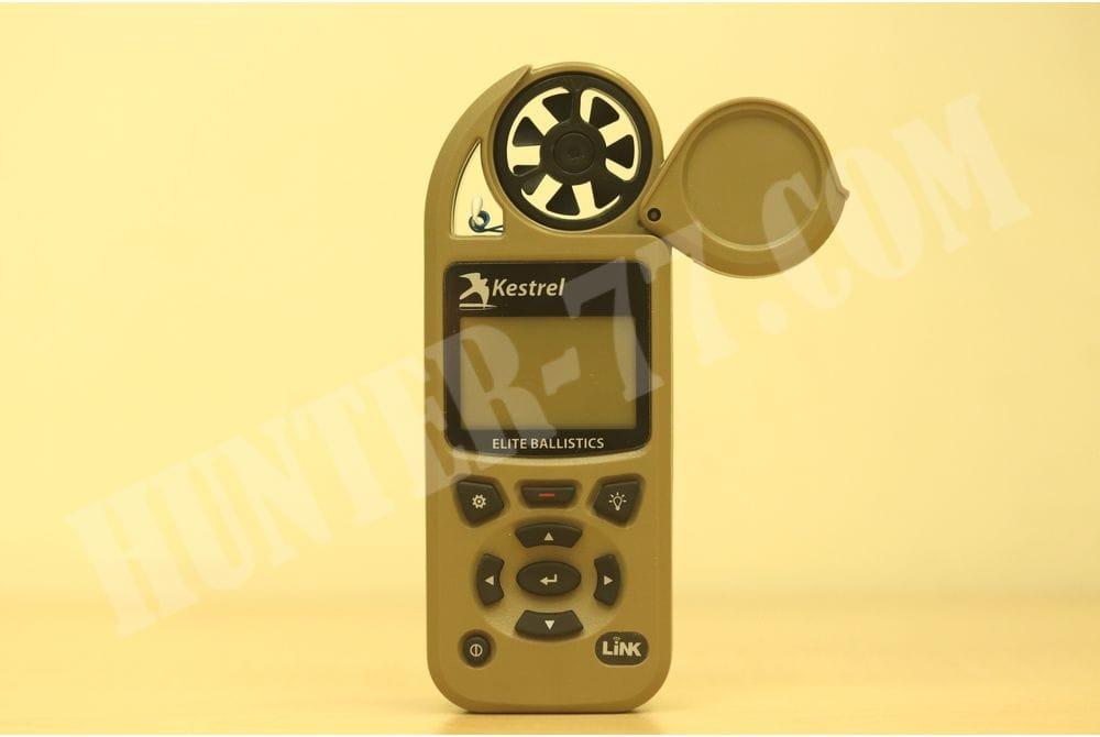 Карманная метеостанция KESTREL 5700 Elite c функцией Link и б.к. Applied Ballistics коричневая