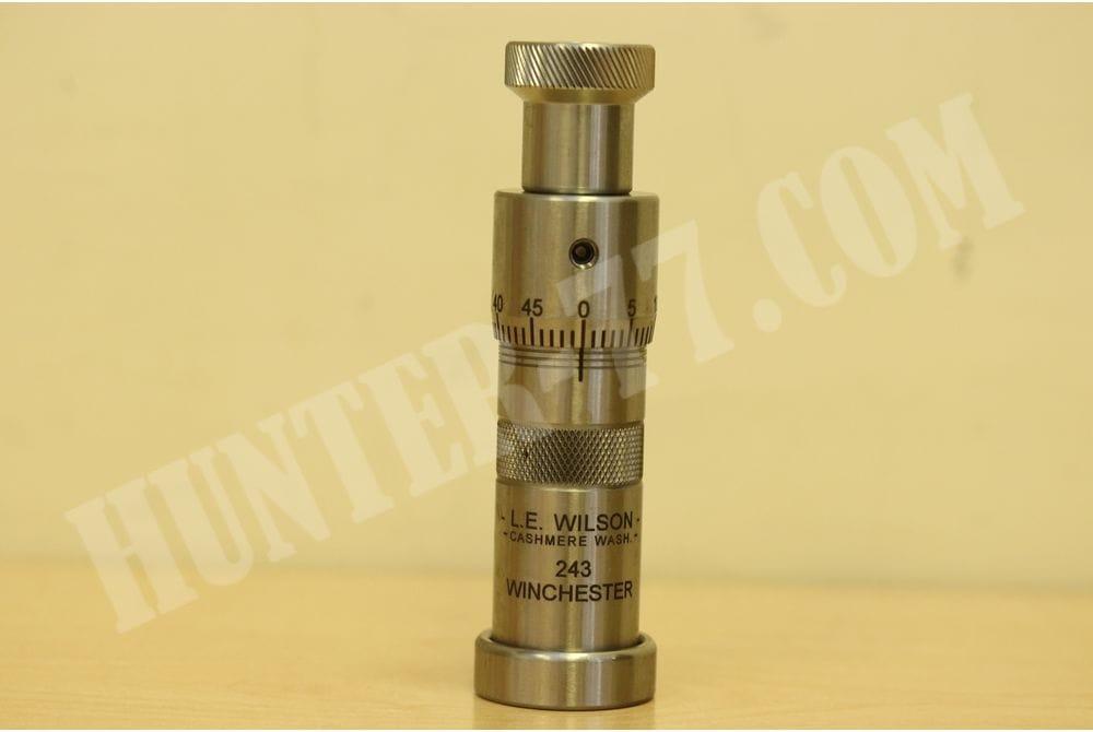 Матрица WILSON STAINLESS Micrometer Top Bullet Seater нажимная