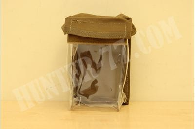 LBT 10x14x7.5 cm Clear Medical Resupply Pouch Hook Loop Coy Brown Medic