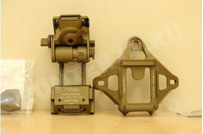 Крепление Wilcox L4 G24 TAN + Three-Hole Shroud Assembly Breakaway NVG Mounts