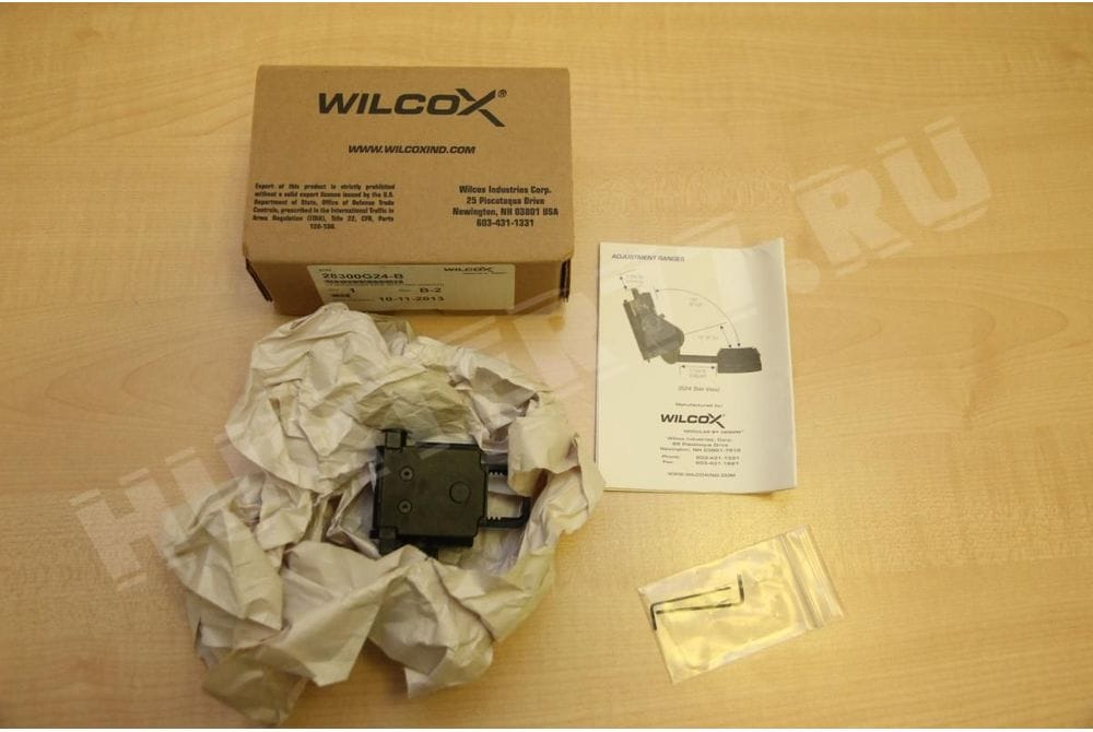 Крепление Wilcox L4 G24 BLACK Breakaway NVG Mounts