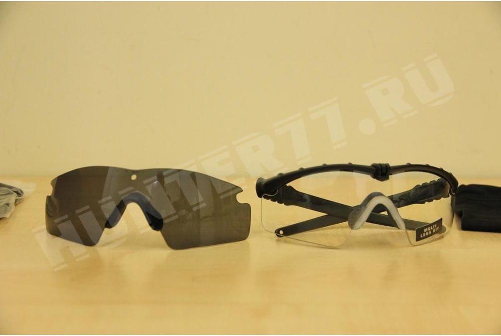 Очки Oakley SI Ballistic 2 линзы M Frame 3.0, Clear + Grey