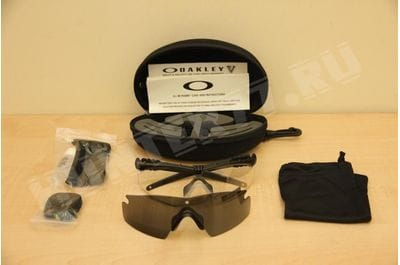 Очки Oakley SI Ballistic 2 линзы M Frame 3.0, Clear + Grey