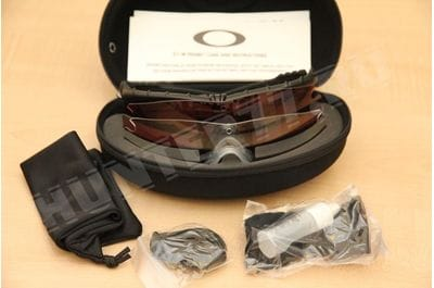 Points of Oakley SI Ballistic 3 lenses of M Frame 3.0 TR22 + TR45 + Clear