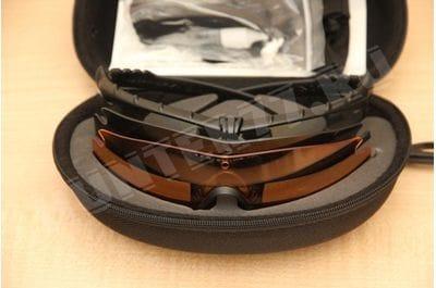 Oakley SI Ballistic 3 линзы M Frame 3.0 Persimmon+Clear+ Grey