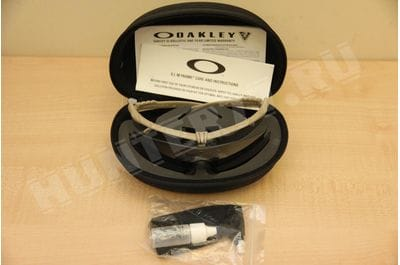 Points of Oakley SI Ballistic Tan 2 lenses M Frame 3.0, Clear + Gray