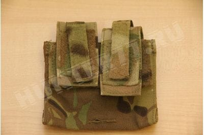 Pouch on the helmet under the counterweight First Spear cartoons