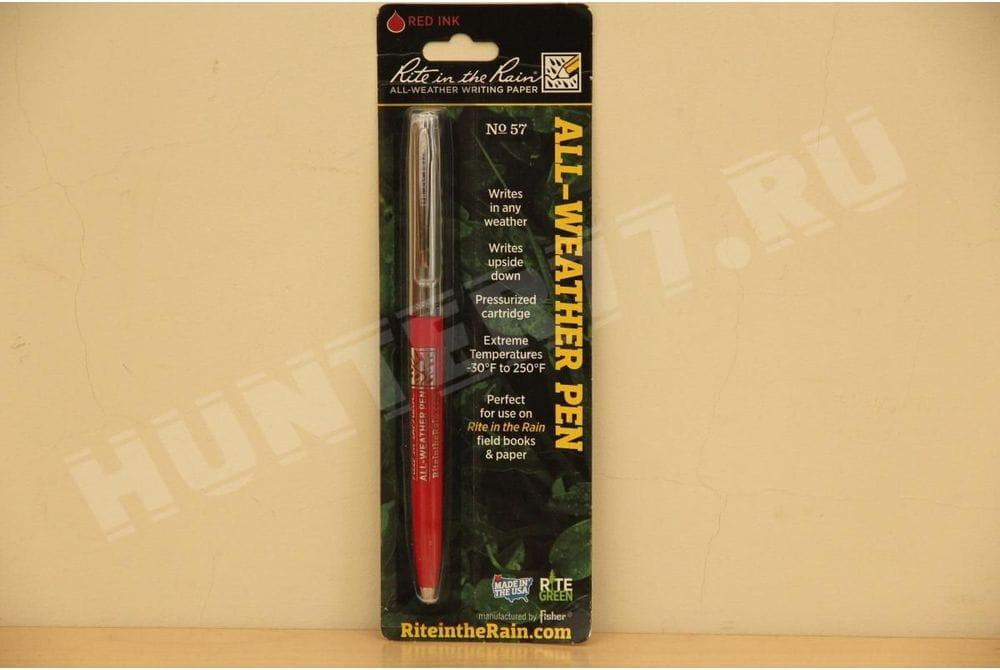 Всепогодная ручка красная All Weather Pen № 57 Rite in the Rain